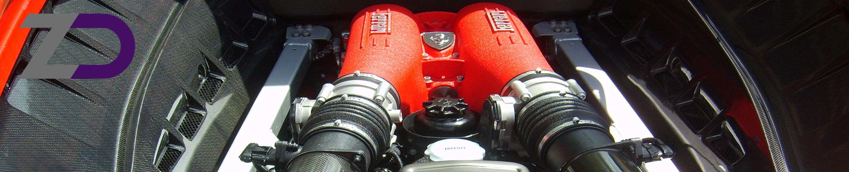 Ferrari, F430, motortisztítás